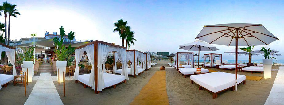 Apartamentos torremolinos beach club carihuela apartahotel torremolinos playa miguel - Fotos de hamacas en la playa ...